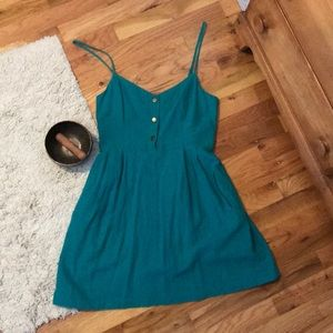 COPE from Urban Outfitters Mermaid Green Dress
